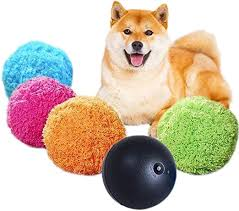 Roblue <b>Pet</b> Plush <b>Dog Toy Automatic</b> Roller Ball Electric <b>Toy</b> with 4 ...