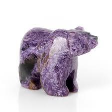 Купить <b>Медведь</b> чароит Россия 5,5 см Доставка по всему миру ...
