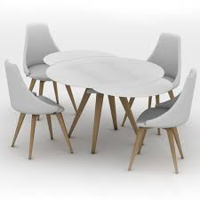 round glass extendable dining table: