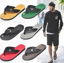 <b>Men's</b> Gray Sandals <b>Summer Beach</b> Flip Flops Sport Fashion <b>Shoes</b> ...