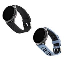 <b>Sport Silicone</b> Bands for Samsung Universal <b>20mm</b> Smartwatch by ...