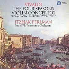 <b>Vivaldi</b>:Violin Concertos; Four Seasons (2CD) by <b>Itzhak Perlman</b>