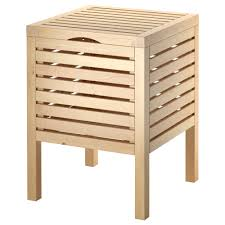 image quarter bamboo bathroom stool