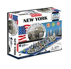 Buy 4D <b>Cityscape New York City Skyline</b> Time Puzzle Online at Low ...