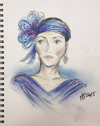 sketch confessions of a ballerunner girl a pearl earring sketch