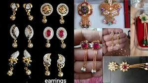 <b>New</b> Little <b>Earrings</b> Design <b>2019</b> | Latest Tops Design |Golden ...