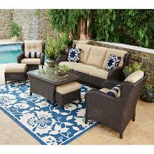 set conversation patio middot picture of grey weston corner end chair wicker patio set