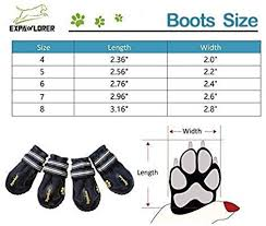 large dog anti slip soft bottom shoes waterproof pet boots paw protector winter dog shoes