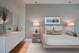 contemporary bathroom lighting grey white bedroom color scheme with wall lamps mounted wood floor and rug bathroom lighting scheme