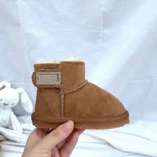 Online Shop Winter Australia Baby <b>Girls</b> Snow Boots Warm Sheep ...