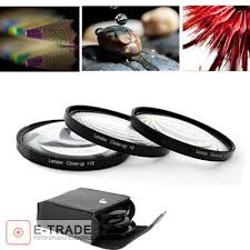 <b>37mm Macro Close Up</b> +2 +4 +10 Lens Set Kit FOR canon pentax ...