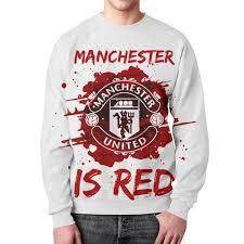 """Свитшот мужской с полной запечаткой """"<b>Манчестер Юнайтед</b> ..."""