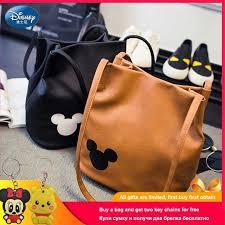 Disney Mickey <b>Handbags</b> PU Leather Organizer <b>Small Cute Bucket</b> ...