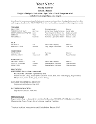 resume templates sample acting headshot template 1000 ideas sample acting resume acting headshot resume template 1000 ideas intended for 89 interesting template for resume