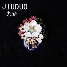 <b>JIUDUO</b> Wholesale <b>Natural</b> Stone Designer Brooches For Women ...