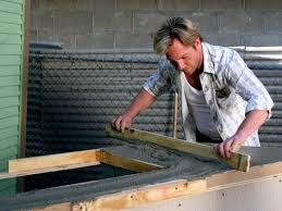 Countertop For Outdoor Kitchen Outdoor Kitchen Island With Concrete Countertop Hgtv