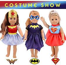Total <b>11pcs</b>/<b>set</b> Halloween Costume Change <b>Show</b> Doll <b>Clothes</b> Set ...