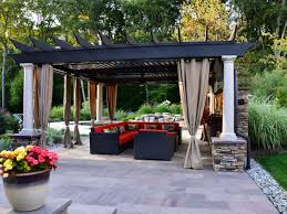 garden furniture patio uamp: bring the indoors outdoors ci marc nissim backyard contemporary pergola sxjpgrendhgtvcom
