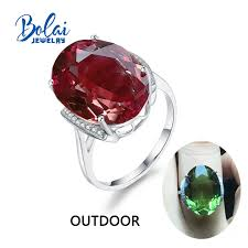 <b>Bolaijewelry</b>,<b>Zultanite rings 925 sterling</b> sliver created color change ...