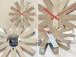 <b>Часы настенные Ribbon</b>, стальные купить по цене 5 300 ...