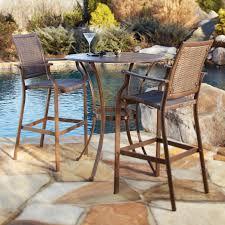 wicker bar height dining table: outdoor teak bar height dining table outdoor pub and bistro tables pub table patio furniture organicoyenforma