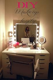 an awesome diy makeup vanity made2style awesome diy makeup