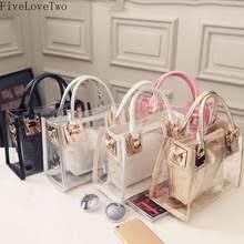 <b>clear jelly</b> purse