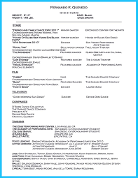 the best and impressive dance resume examples collections how to dance resume objective