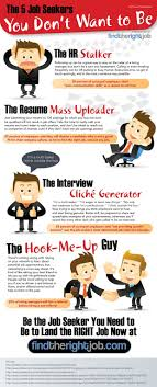 best ideas about job seekers job search tips the 5 job seekers you don t want to become infographic