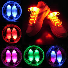 <b>Светодиодные Flash Luminous Light</b> Up Glow Strap Shoelace ...