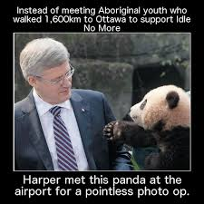 Panda-Harper Memes Fly as Prime Minister Jets to Toronto Instead ... via Relatably.com