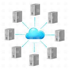 cloud computing network symbol