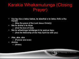 Image result for prayer karakia