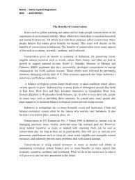 essay on importance of conservation of natural resources  essay on importance of conservation of natural resources