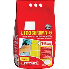 <b>Затирка LITOKOL</b> Литохром, 5000 г - купить в интернет-магазине ...