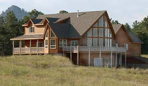 See the HC   Chalet style house plan from Creative House PlansThe walk out design gives this house plan maximum flexibility
