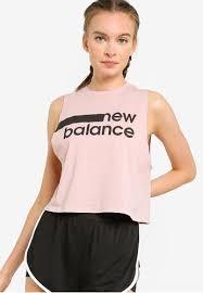Buy New Balance <b>Relentless Crop Novelty</b> Tank Top | ZALORA HK