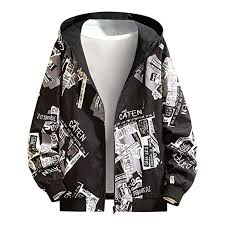 Buy Rosatro Men Sport Jacket Autumn <b>Camouflage Letter</b> Printed ...