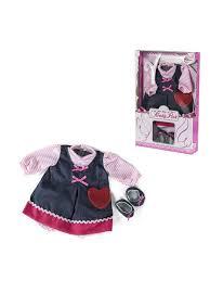 <b>Одежда для куклы</b> девочки Baby Pink 98221 c 10 мес. <b>Loko Toys</b> ...