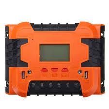 <b>pwm</b> 12v/24v <b>solar</b> charge controller battery charging lcd display ...