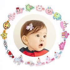<b>18pcs lot</b> Novelty Girls Cartoon Hairpins Felt Embroidery Love Heart ...