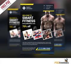 fitness or gym flyer template psd psd bies com fitness flyer template psd