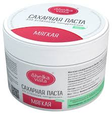 <b>Паста для</b> шугаринга Shelka Vista Мягкая <b>сахарная</b> — купить по ...