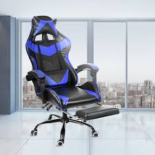 <b>Leather Office Gaming</b> Chair Home Internet Cafe Racing Chair WCG ...