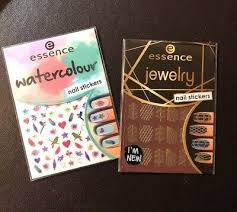 "<b>ESSENCE NAIL STICKERS Nail Art BLING</b> ""WATERCOLOUR + ..."