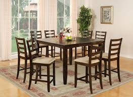 Square Dining Room Table With 8 Chairs Round Dining Room Table Sizes Dining Set Seats 8 Full Size
