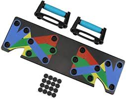 Push Up Board, <b>9 in 1 Push</b> Up Rack Board System Fitness Workout ...