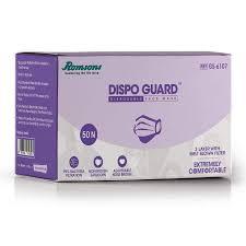 Romsons Dispo Guard <b>3 Ply Face Mask</b> - Pack of 50