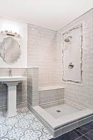 blue grey bathroom floor tile cheverny