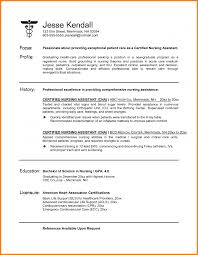 5 certified nursing assistant resume resume reference certified nursing assistant resume example of a cna resume to inspire you how to make the best resume 4 png